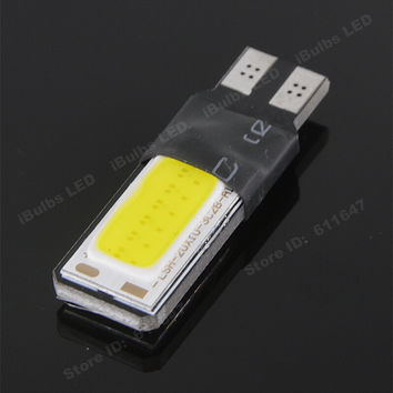 1Pcs Colorful T10 COB 12 Big Chips LED Interior Lights Canbus No Error Car Tern Side Wedge Marker Lamps Reading Dome Bulb