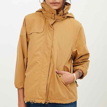 Silence + Noise Kelly ¾-Sleeve Swing Anorak Jacket