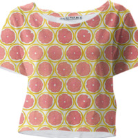 Grapefruit Galore created by Call Me Chartreuse | Print All Over Me