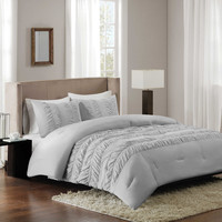 Regency Height Deanna Ruched Comforter Set