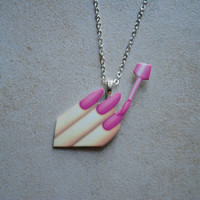 Manicure Necklace
