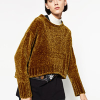 FULL CHENILLE SWEATER