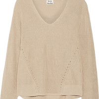 Acne Studios - Deborah ribbed linen sweater