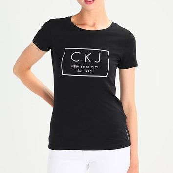 CK Calvin Klein Woman Men Fashion Tunic Shirt Top Blouse-3