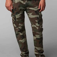 All-Son Camo Cargo Pant- Green Multi
