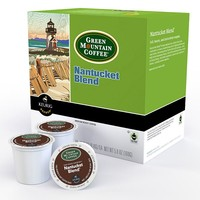 Keurig K-Cup Pod Green Mountain Coffee Nantucket Blend Medium Roast Coffee - 18-pk. (Green/Berry)