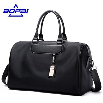 Luxury journey bags women's overnight travel bag men tourist bag large size women's travel handbags stylish male duffel bags