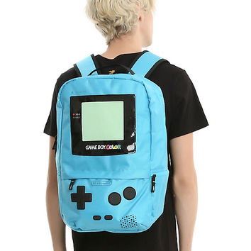 Nintendo Game Boy Color Blue Backpack