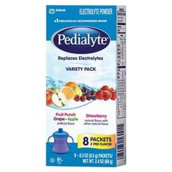 Pedialyte® Oral Electrolyte Solution Powder - 8 powder packets