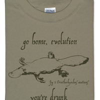 Go Home, Evolution T-Shirt - Safari,