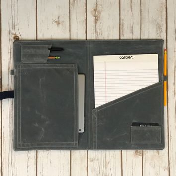The Ledger Collection No. 108: Personalized Notebook / Tablet Portfolio (Legal Size)