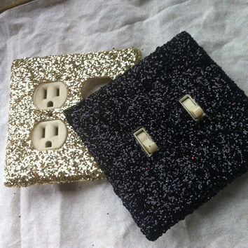 Glitter Switchplate - Any Color