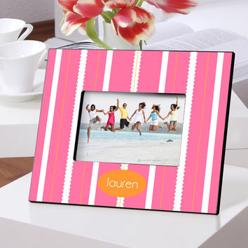 Personalized Color Bright Frame - Beach Blanket
