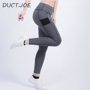 DUCTJOE High Quality Women's Fitness Leggins Fashion Active Cotton Legging Adventure Time Workout Skinny Leggins Women Leggings