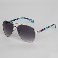 BKE Grand Rose Aviator Sunglasses