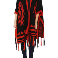 The Mystic Native Poncho Sweater