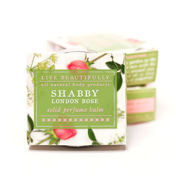 Shabby London Rose - All Natural Solid Perfume