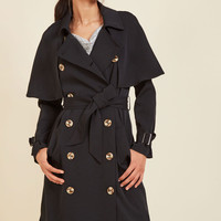 Astonish With Polish Trench | Mod Retro Vintage Coats | ModCloth.com