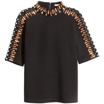 H&M Beaded Top $69.99