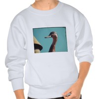 Retro Duck Pullover Sweatshirts