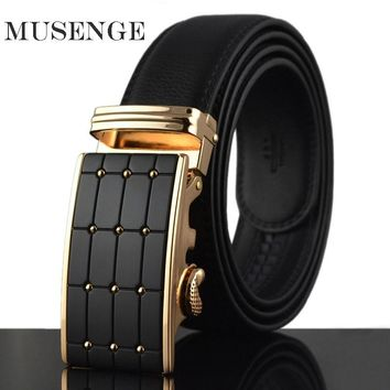 Designer Belt Luxury Real Leather