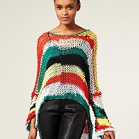 Horace | Horace Hand Knitted Multicolour Jumper at ASOS