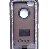 OtterBox Defender Series Case iPhone 5c Glitter Cute Sparkly Bling Defender Series Custom Case Black / Graphite