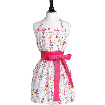 Bubbly Celebration Front Tie Viola Apron