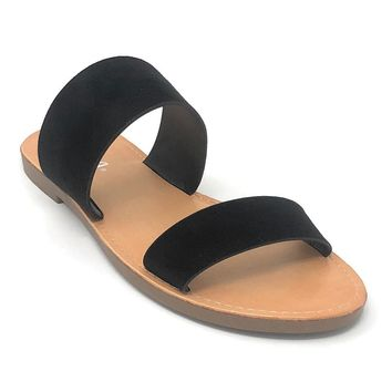Soda Allie Black Fashion Sandal