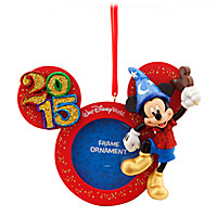 Mickey Mouse Frame Ornament - Walt Disney World 2015