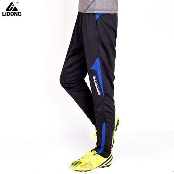 LIDONG Kids Soccer Training Pants Slim Skinny Leg Sweatpants Boys Survetement Football Tracksuit Running Pants Jogging Trousers