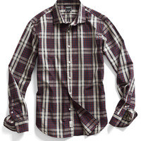 Spread Collar Dress Shirt in Kevin Plaid