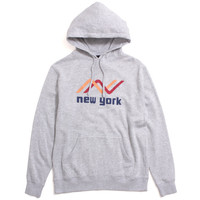 Ocean Pullover Hoody Heather Grey