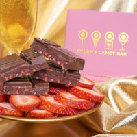 Dylan's Candy Bar Dark Strawberry and Champagne Gold Collection Bar | Dylan's Candy Bar