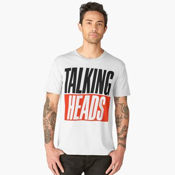 'Talking Heads' Men's Premium T-Shirt by hypnotzd