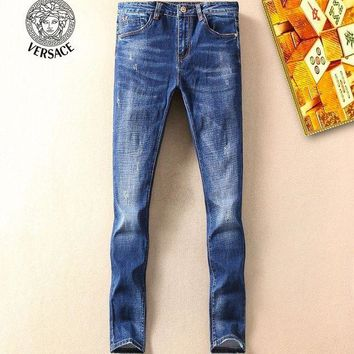 DCCKNY1Q Boys & Men Versace Fashion Casual Pants Trousers Jeans