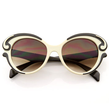 Designer Inspired Fashion Butterfly Sunglasses 8564