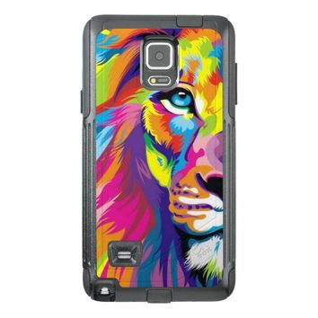 Colorful Lion OtterBox Samsung Galaxy Note 4 Case