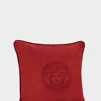 Versace Medusa Head silk cushion - Home Collection | US Online Store