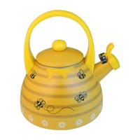 Bee Hive Whistling Tea Kettle