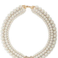 ModCloth Luxe Pearls Just Wanna Have Fun Necklace