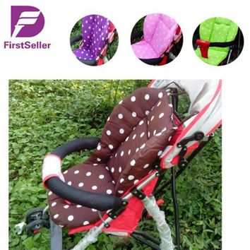New Thick Colorful Baby Infant Stroller Car Seat Pushchair Cushion Cotton Cover Mat Lovely Cute Design Baby Seat Cushions