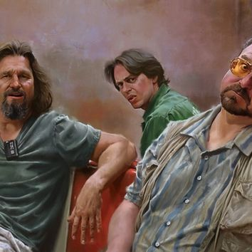 """Big Lebowski"" - Art Print by Pavel Sokov"