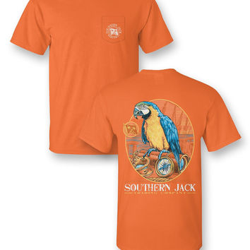 Southern Jack Apparel Parrot Comfort Colors Unisex Frass Bright T Shirt
