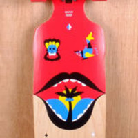 """GoldCoast 38"""" Watershed Drop Through Longboard Complete"""