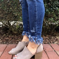 Travel The World Bootie- Taupe