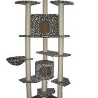 BestPet 38L Cat Tree Condo Furniture Scratch Post Pet House, 80-Inch
