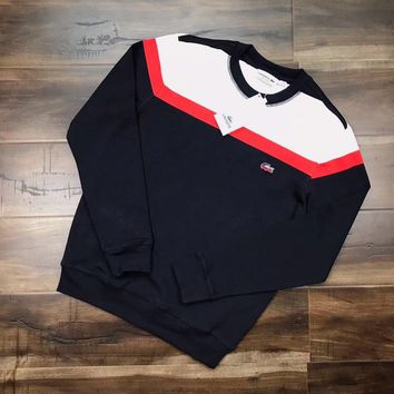LACOSTE Woman Men Casual Top Sweater Pullover