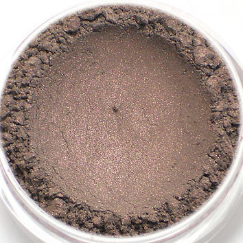 "Taupe with Pink Sheen Eyeshadow - ""Silhouette"" - Vegan Mineral Eyeshadow Net Wt 2g Mineral Makeup Eye Color Pigment"