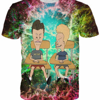 Trippy Beavis and Butthead Shirt